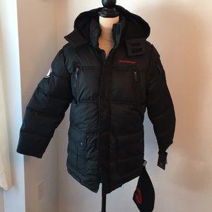 NWT weatherproof boys 14/16 large jacket